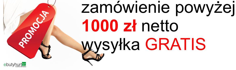 Kurier gratis przy zakupy 500 zł netto